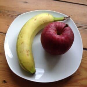 Apfel-Bananen-Brei