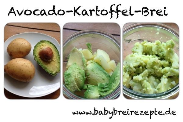 Avocado-Kartoffel-Brei-zubereitung