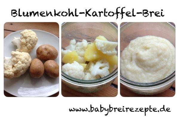 Blumenkohl-Kartoffel-Brei-zubereitung