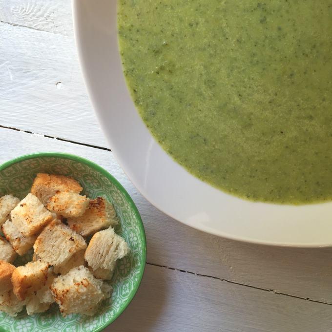 Brokkolicremesuppe (2)