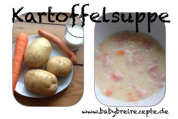 Kartoffelsuppe-zubereitung