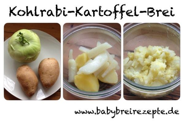 Kohlrabi-Kartoffel-Brei-zubereitung