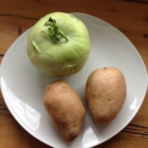 Kohlrabi-Kartoffel-Brei
