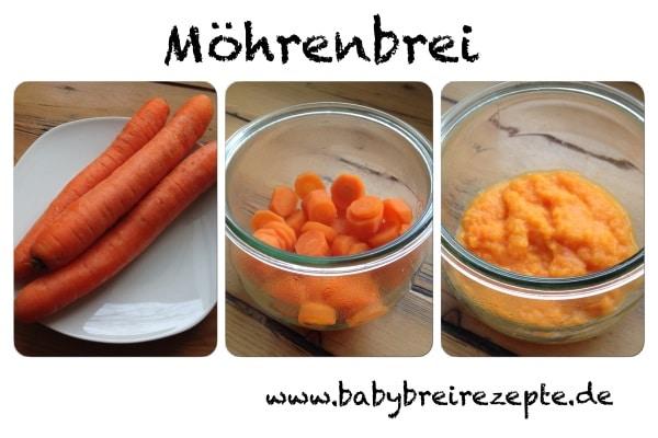 Moehrenbrei-zubereitung
