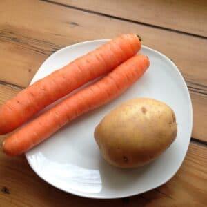 Möhren-Kartoffel-Brei