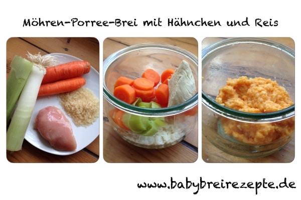 moehren-porree-brei-mit-haehnchen-und-reis-zubereitung