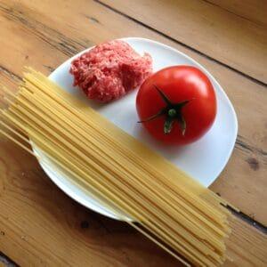 Babybrei Spaghetti Bolognese