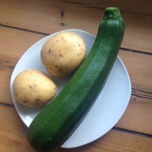 Zucchini-Kartoffel-Brei