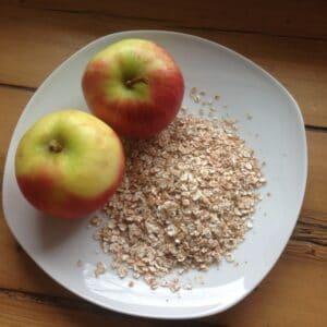 Apfel-Dinkel-Brei