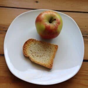 Apfel-Zwieback-Brei