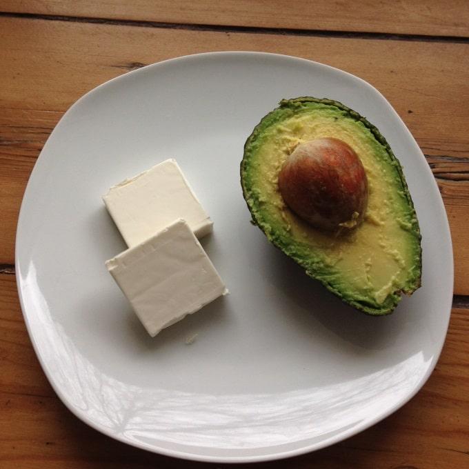 avocado-frischkaese-aufstrich-zutaten
