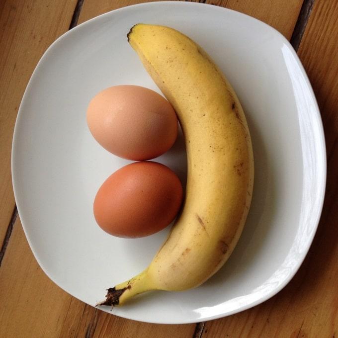 pancakes-mit-banane-zutaten