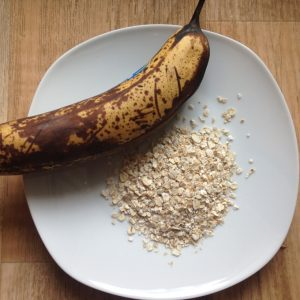 Bananen-Haferflocken-Kekse