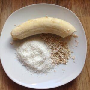 Bananen-Kokos-Kekse