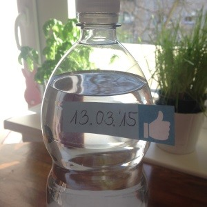 """Projekt Frühjahrsfit """"2 Liter Trinken"""""""
