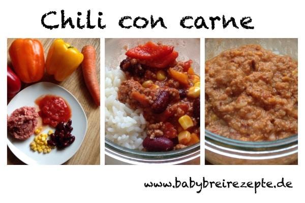 Mildes Chili Con Carne Kinder Kommt Essen