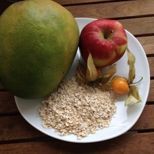 Fruchtmix-Haferflockenkekse