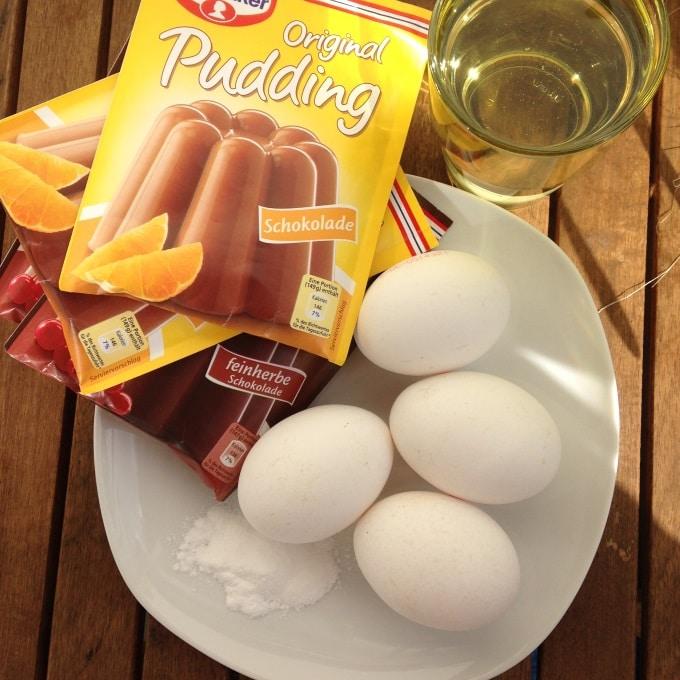 Puddingpulverkuchen Schoko Kinder Kommt Essen
