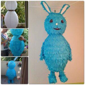 …basteln wir eine Kikaninchen-Piñata