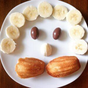 Bananen-Kuchen-Mann
