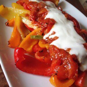 Ofen-Paprika (türkische Art)
