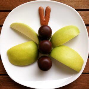 Schaumkuss-Apfel-Schmetterling