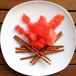 Melonen-Lagerfeuer