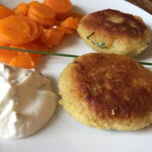 Falafel-Couscous-Taler
