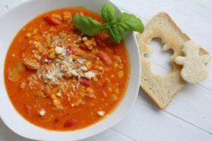 Schneemann trifft Suppe