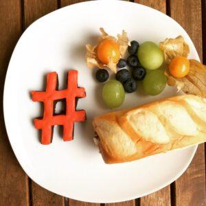 Hashtag Frühstück