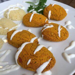 Kürbis-Falafel