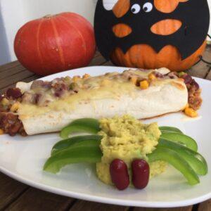 Enchiladas mit Guacamole