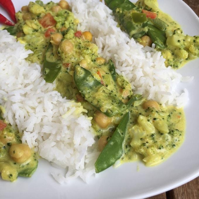 Gemüse Curry  (2)