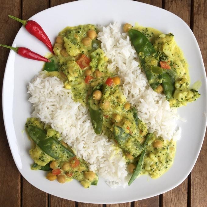 Gemüse Curry  (4)