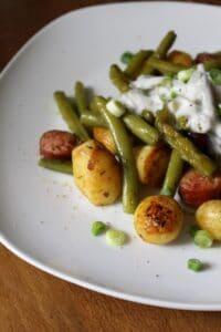 Kartoffel-Bohnen-Pfanne