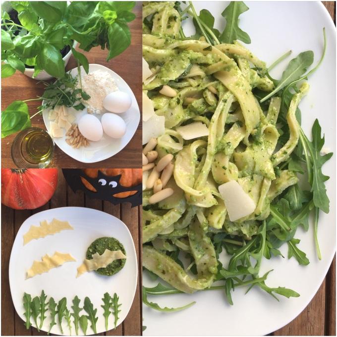 Pasta Pesto Halloween (12)