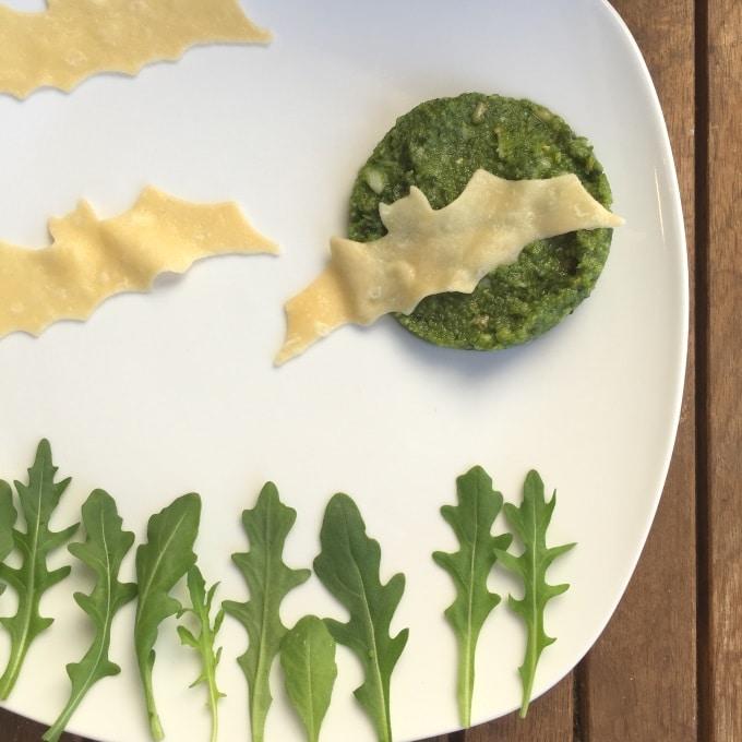 Pasta Pesto Halloween (7)
