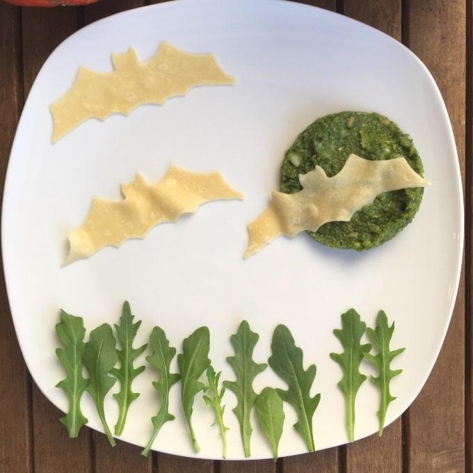 Pasta Pesto Halloween (8)