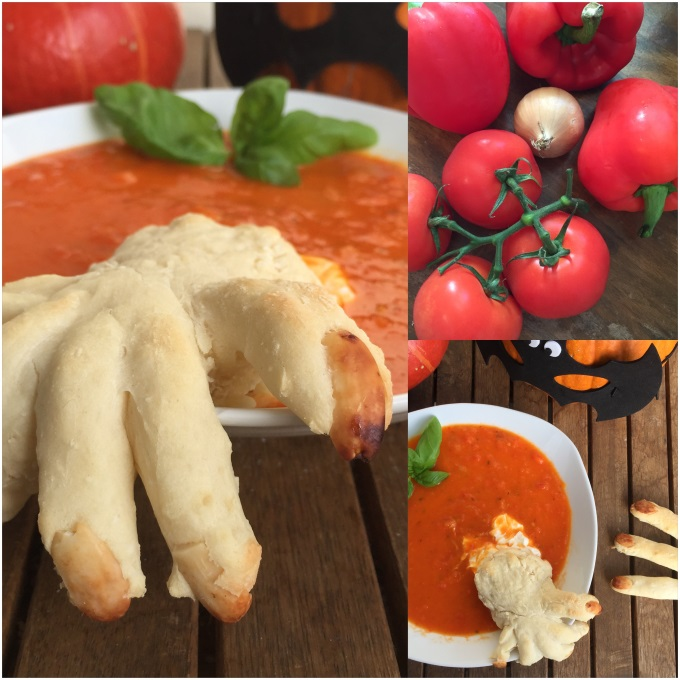 Tomaten Paprika Suppe Halloween (1)