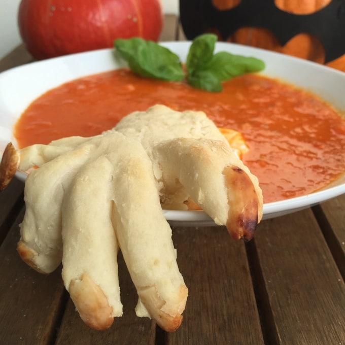 Tomaten Paprika Suppe Halloween (10)