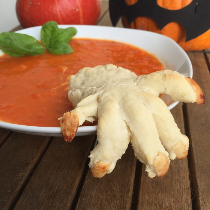 Tomaten Paprika Suppe Halloween (7)
