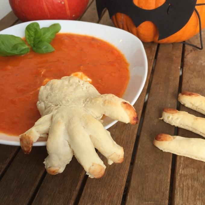 Tomaten Paprika Suppe Halloween (8)