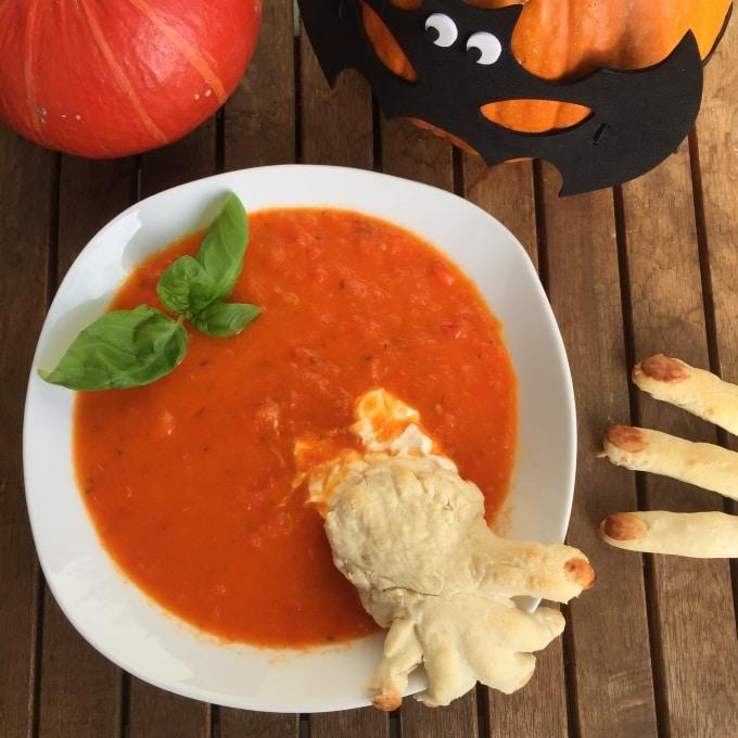 Tomaten Paprika Suppe Halloween (9)