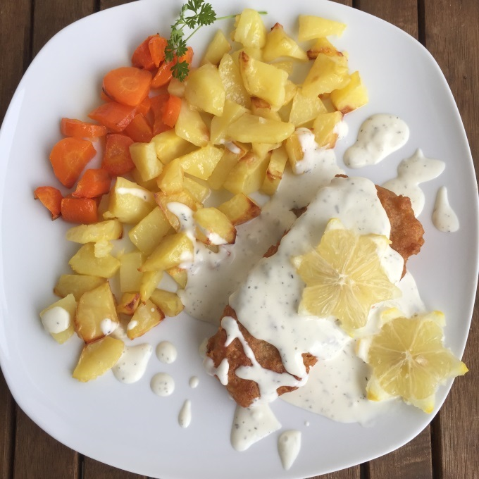 Backfisch Bratkartoffeln Remoulade (1)