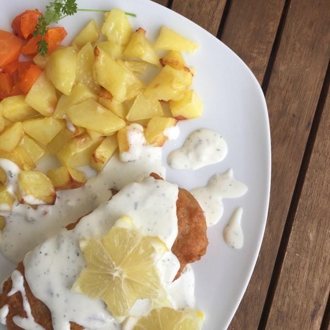 Backfisch Bratkartoffeln Remoulade (2)