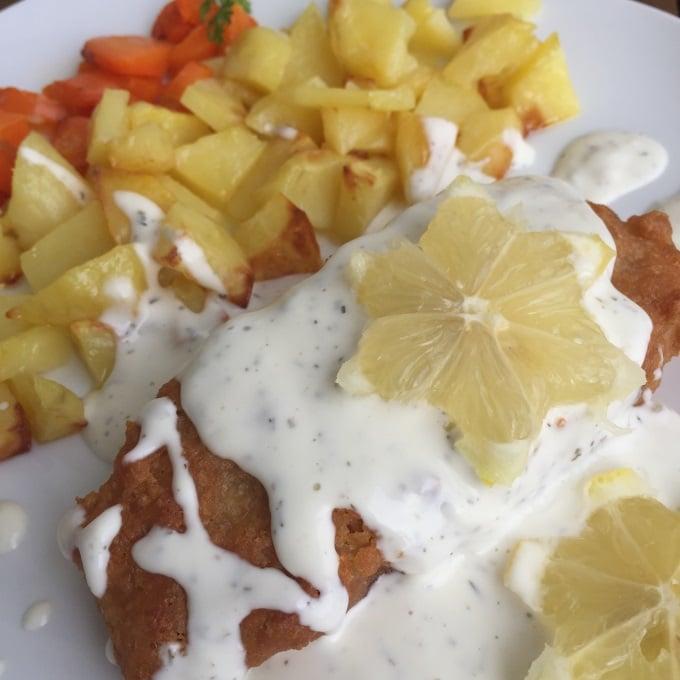Backfisch Bratkartoffeln Remoulade (3)