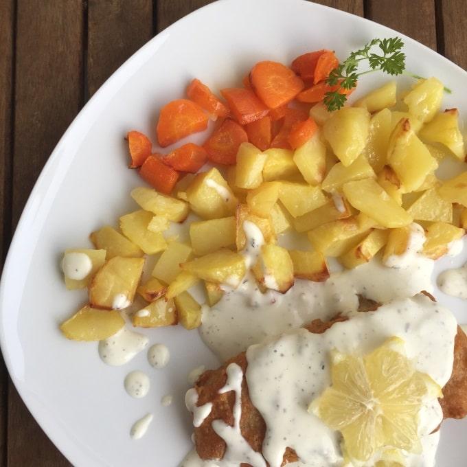 Backfisch Bratkartoffeln Remoulade (5)