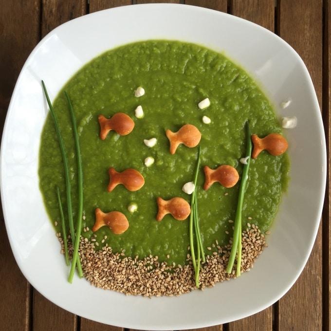 Erbsensuppe vegetarisch mit Joghurt (6)
