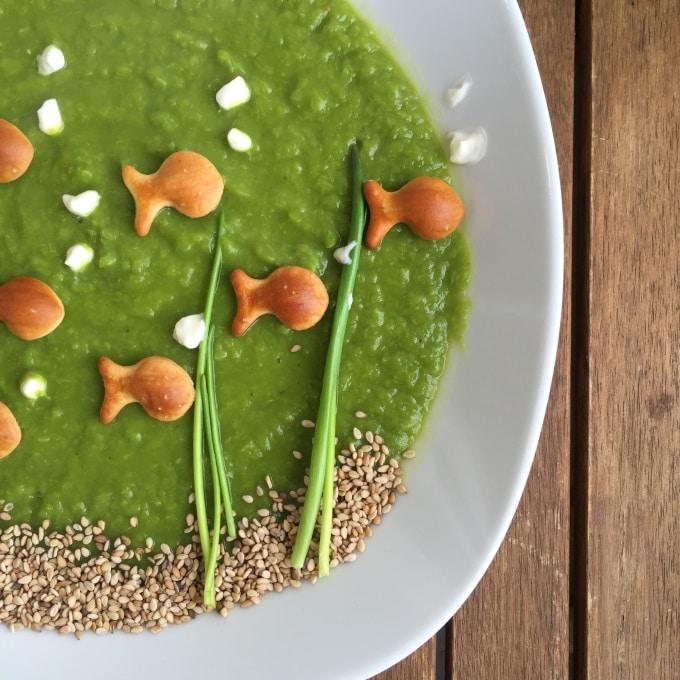 Erbsensuppe vegetarisch mit Joghurt (7)
