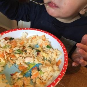Erdnuss Erdnusssoße Hähnchen Gemüse (6)